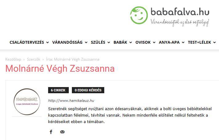 Babafalva cikkek
